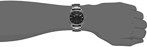 Fossil-Mens-FS4774-Machine-Smoke-Stainless-Steel-Bracelet-Watch