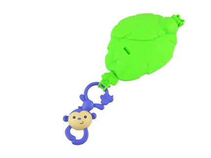 Replacement Monkey Toy w/ Leaf Fisher Price Rainforest