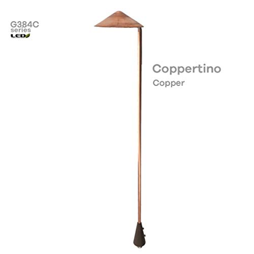 Raw Copper Landscape Lights in US - 7