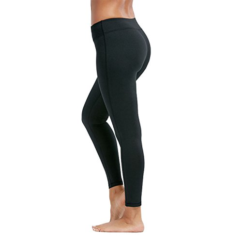 YR.Lover Women's Tights Active Yoga Running Pants Workout Leggings