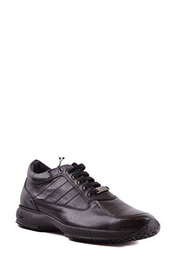 Trussardi Herren MCBI299067O Schwarz Leder Sneakers