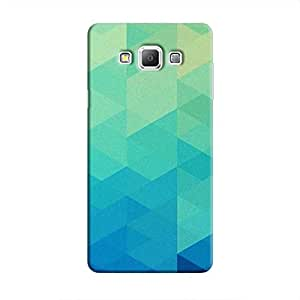 Cover It Up Blue Pixel Hard Case For Samsung Galaxy A8