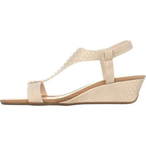 Alfani Womens Vacanzaa Open Toe Casual Platform Sandals, Pale, Size 8.0
