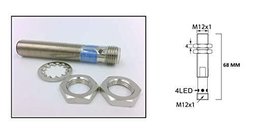 RADWELL VERIFIED SUBSTITUTE 871C-A2N12-R3-SUB Replacement of Allen Bradley 871C-A2N12-R3, Proximity Sensor, INDUCTIVE, M12, Shielded, 2MM Range, AC, N/O, M12 AC Micro by RADWELL VERIFIED SUBSTITUTE (Image #1)