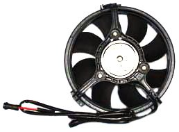Audi A4 Cooling 2000 (TYC 610920 Volkswagen/Audi Replacement Condenser Cooling Fan Assembly)