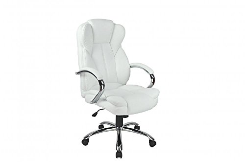 High Back PU Leather Executive Office Desk Task Computer Chair w/Metal Base O18