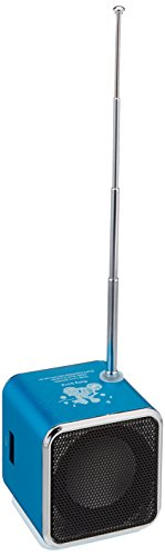 Mini Digital Portable Music MP3 Player Micro SD/TF USB Disk Speaker FM Radio TD-V26 - Blue by TD (Image #2)