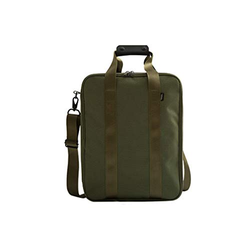 Gangglis Travel Leisure Mobile Business Storage Diagonal Home Bag (Army Green)