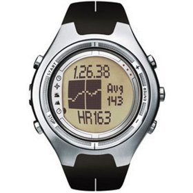 Suunto X6HRM Heart Rate Wrist-Top Computer Watch with Altimeter, 1553 ()