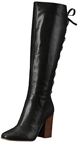 Mode Cuir Neuf Calhoun Neuf Botte Ouest Mode Noir Femmes XqOOEP6x