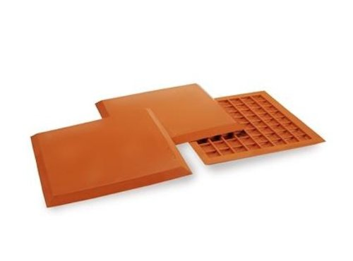 (Athletic Specialties Deluxe Throw Down Bases, Set of 3 (Orange))