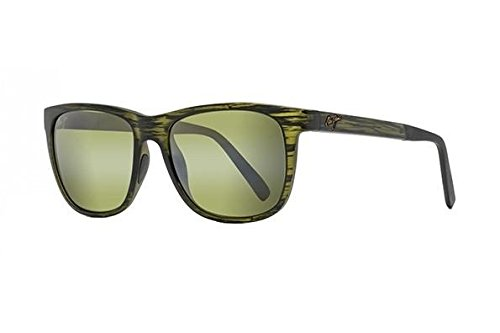 Stripe Matte (Maui Jim Unisex Tail Slide Matte Green Stripe One Size)
