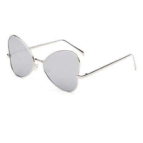 Aoligei Fashion tendance gros frame lunettes de soleil papillon rétro populaire style personnalité lunettes de soleil G