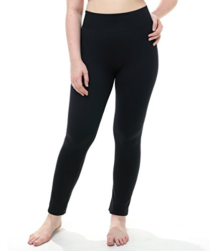 Youngpal High Waist Black Yoga Pants leggings with Inner Pocket Non See-through Sport Pants Workout leggings (Sofa Tables Kirklands)