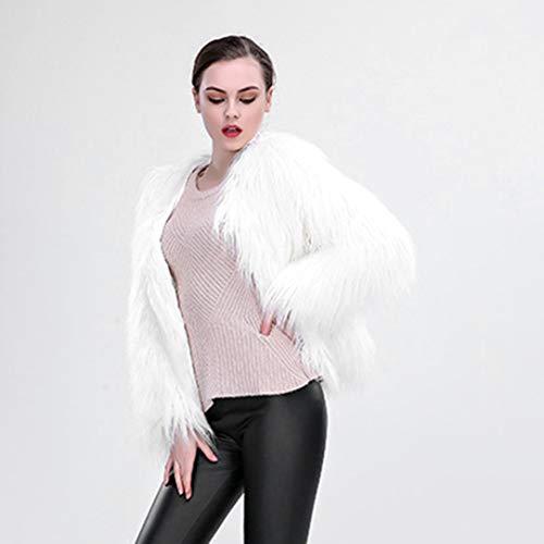 Navidad Fiesta Escudo Diseño De Luminoso Cosplay Espectáculo Danza La Moda Mujeres Piel Outwear Encienden Falsa Las Capa Led Chaqueta Se qItrIgwxR
