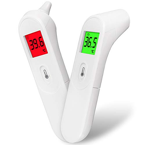 Slimerence Baby Ear & Forehead Thermometer - Upgraded Lens Technology for Better Accuracy, for Kids, Children, Adults, Infants, Toddlers