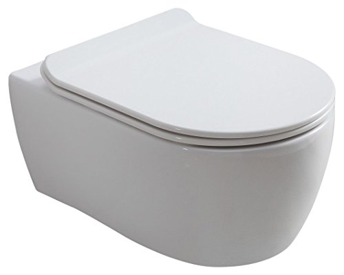 Fine Hansvit Stein Rimless Toilet And Seat 545 Mm White Buy Pdpeps Interior Chair Design Pdpepsorg