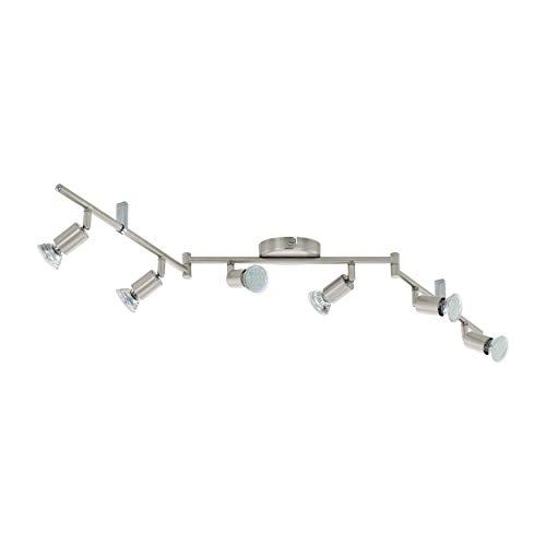 EGLO Buzz-LED Spotlamp, staal, 3 watt, nikkel mat