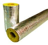Rockwool cara de aislamiento para tuberí a 54 mm diá metro 25 mm secció n gruesa -1 metro