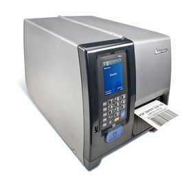 Intermec PM43A11000040201 Series PM43 Mid-Range Industrial Label Printer, Touch Interface, Serial, USB, Ethernet, Fixed Hanger, Rewinder, LTS, Thermal Transfer, 203 dpi, US Power Cord