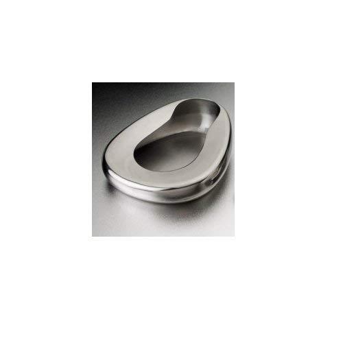 DUKAL 4227 Tech-Med Adult Bedpan, 11-3/8'' Width, 14'' Length, Stainless Steel
