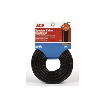 Amazon.com: ACE Hardware 3203148 50 Feet Speaker Cable Wire Direct ...