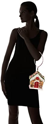 Mary Frances Gingerbread House Evening Bag