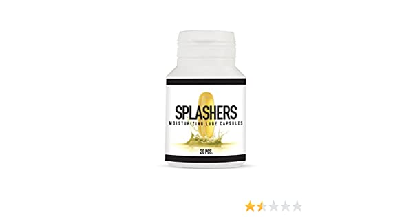 Pharmquests Splashers Pastillas de Lubricante - 40 gr: PHARMQUESTS ...