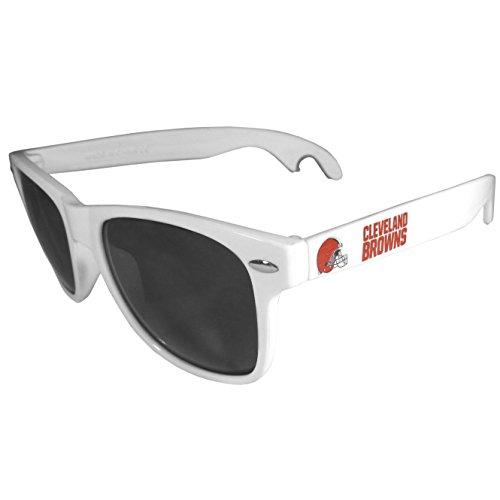- Siskiyou NFL Cleveland Browns Beachfarer Bottle Opener Sunglasses, White