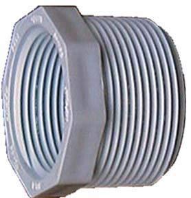 Sch 40 Pvc Reducing Bushing - Genova Products 34355 1-1/2