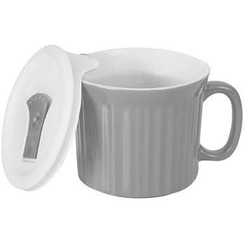 CorningWare Colours Pop-Ins Truffle 20-oz Mug with Lid