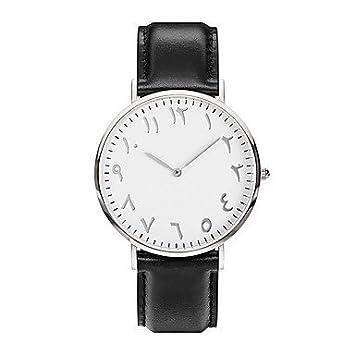 Fashion Watches Relojes Hermosos, Mujer Hombre Reloj Deportivo Reloj de Pulsera Reloj Pulsera Reloj Creativo único Reloj Casual Chino Cuarzo Resistente al ...