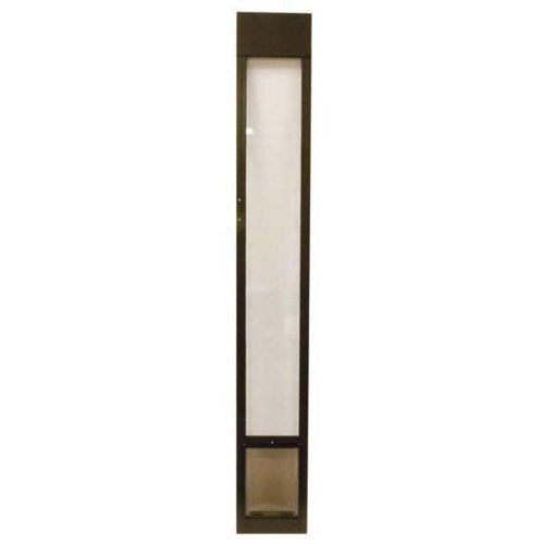 PetSafe Deluxe Pet Panel Panels for Sliding Glass Doors 76-3/4 to 81 Tall, Medium, (Deluxe Patio Panel Pet Door)