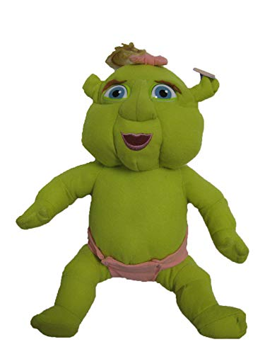 """Shrek the Third 8"""" Plush Baby Girl with Pink Bow"""