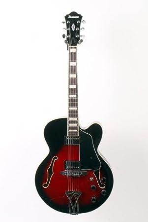 Ibanez Artcore AF serie AF75 - Guitarra eléctrica cuerpo hueco transpar...: Amazon.es: Instrumentos musicales