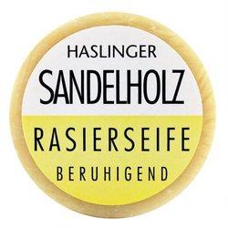 Sandalwood Shaving Soap 60g shave soap by Haslinger by Haslinger