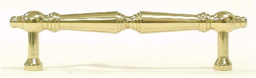 Top Knobs M729-96 Asbury Appliance Pull Brass/Antique Brass