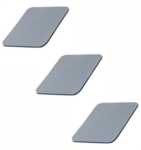 Belkin (F8E081-GRY-3) 3-Pack Gray Standard Mouse Pad