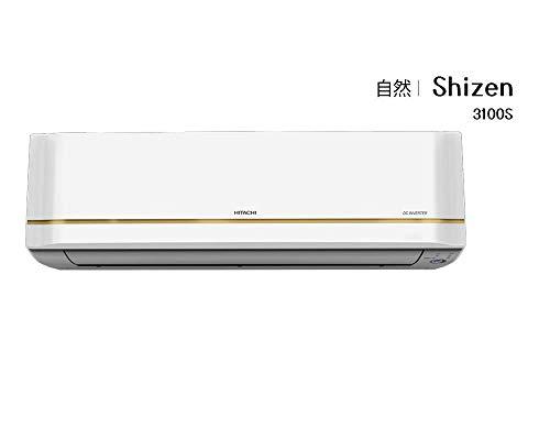 Hitachi 2 Ton 3 Star Inverter Split AC (Copper, Dust Filter, 2021 Model, RMQG322HEEA, White) 2021 July Koukin Filter On/Off Timer Auto Mode