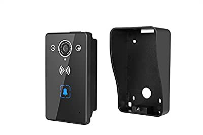 Wifi Wireless Video Doorbell,Night Vision, 2-Way Audio, HD Video, Motion Sensor, Door Camera,Waterproof Video,Intercom System, Unlocking, Door Phone, Support Onvif