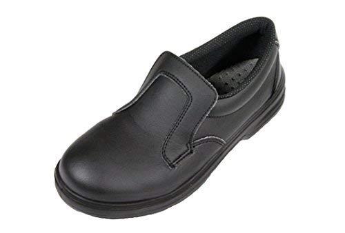 Scarpe antinfortunistiche da cucina scarpe da lavoro nero s src