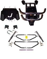 EZGO TXT 1994-01 Golf Cart Jakes Long Travel Lift Kit by Jake's