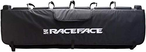 Tailgate Fleece Blanket - RaceFace Tailgate Pad, Black, Large/X-Large/61-Inch