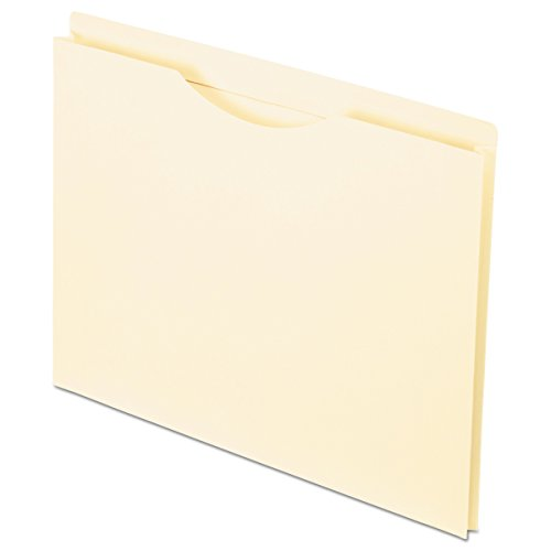 Pendaflex 22100 Reinforced Top Tab File Jacket, 1 Inch Expansion, Letter, Manila (Box of 50)