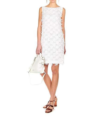 Oblò Bianco V075t06801 Donna Vestito Cotone Unique nvpvqY7S