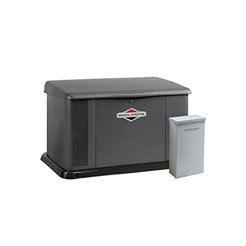 Briggs & Stratton 40346 20000-Watt Home Standby Generator System with 200 Amp Automatic Transfer (Best Briggs & Stratton Gas Generators)