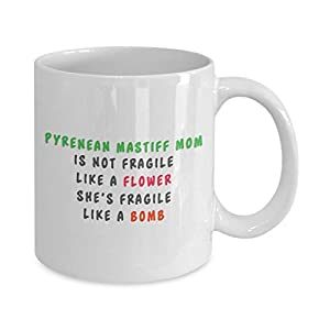 Funny pyrenean mastiff coffee mug, i just freaking love pyrenean mastiff ok, unique gifts for men and women 36