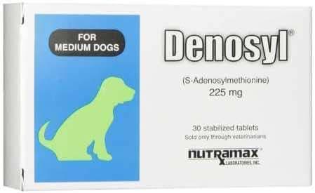 Nutramax Denosyl Tablets, Medium Dog, 225mg, 30 Count