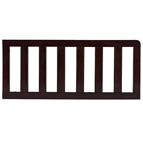 Delta Children Toddler Guardrail, Dark Chocolate