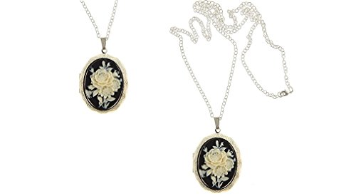 I.G.N.Y. Design Cameo Locket Romantic Rose in ()
